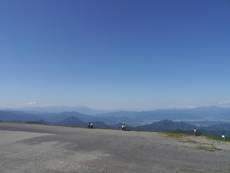 美ヶ原高原からの眺望